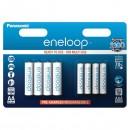 Přednabité baterie, AA/AAA nabíjecí, 1.2V, 750mAh, 1900 mAh, Panasonic-Eneloop, blistr, 8-pack, cena za 1 ks