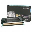 Lexmark originální toner C734A1KG, black, 8000str., return, Lexmark C734, C736, X734, X736, X738