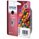 Epson originální ink C13T028401, black, 600str., 17ml, Epson Stylus Color C60