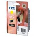 Epson originální ink C13T08744010, yellow, 11,4ml, Epson Stylus Photo R1900