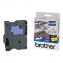 Brother originální páska do tiskárny štítků, Brother, TX-631, černý tisk/žlutý podklad, laminovaná, 8m, 12mm
