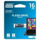 Goodram USB flash disk, 2.0, 16GB, UCU2, šedá, UCU2-0160E0R11