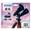 Epson originální ink C13T02W64010, 502XL, T02W640, CMYK, 3x6.4/9.2ml, Epson XP-5100, XP-5105, WF-2880dwf, WF2865dwf