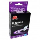UPrint kompatibilní ink s LC-125XLC, cyan, 1200str., 15ml, B-125XLC, pro Brother MFC-J4510 DW