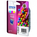 Epson originální ink C13T029401, color, 300str., 37ml, Epson Stylus Color C60