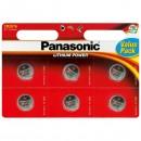 Baterie lithiová, CR2016, 3V, Panasonic, blistr, 6-pack, cena za 1 ks baterie