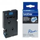 Brother originální páska do tiskárny štítků, Brother, TC-591, černý tisk/modrý podklad, laminovaná, 7.7m, 9mm